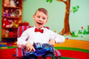 Fondazione Ariel Bambino affetto da Paralisi Cerebrale Infantile