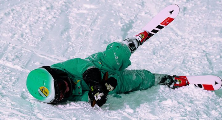 Skiing injures